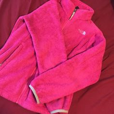 Pink north face ***20% off 2+ bundle!! ***  Gently worn north face! $20 OBO The North Face Jackets & Coats