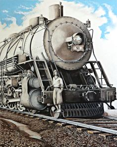 David Neace is a master colored pencil artist whose work has been seen all around the world. Colored Pencil Artwork, Colored Pencils, Around The Worlds, Train, Kentucky, Artist, David, Inspiration, Dibujo
