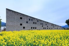 Image 30 of 58 from gallery of Tea Seed Oil Plant / Imagine Architects. Photograph by Zeng Jianghe Detail Architecture, Factory Architecture, China Architecture, Contemporary Architecture, Amazing Architecture, Interior Architecture, Brick And Wood, Ancient Buildings, Old Bricks