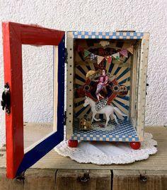 Shadow Box Diorama - Orestes, the indomitable horseman.