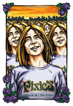 The Pixies Concert Poster By Daymon Greulich