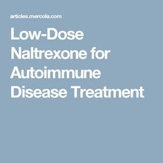 naltrexone low dose depression