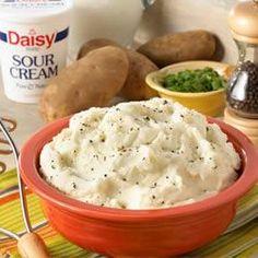 Garlic and Herb Mashed Potatoes Allrecipes.com
