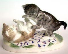 статуэтка котята Конаково каталог клейм конаковский фаянсовый завод