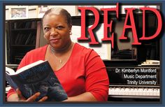 READ Poster, Professor Kimberlyn Montford, Music