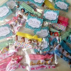 8 x 3 Disney Princesses Birthday Party Favor Packs by OliverandMay