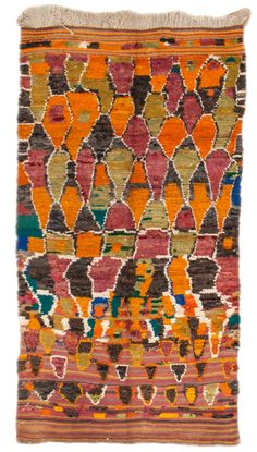 Colorful Vintage Moroccans Number 17526, Moroccan Rugs   Woven Accents