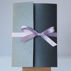 Modern Book Style Grey & Purple Pocketfold - Vintage Wedding Stationery Scotland - VOWS Award Nominee 2013 Purple Wedding Stationery, Modern Wedding Invitations, Wedding Invitation Design, Dot Texture, Modern Books, Grey Fashion, Tiffany Blue, Vows, Scotland
