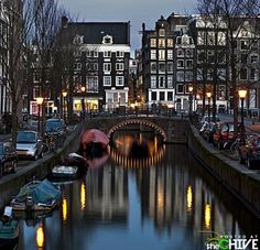 Looks like Amsterdam, but not sure.