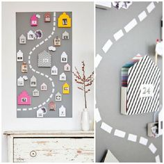 Advent calendars aren't just for Christmas. This DIY project could be used to track upcoming birthdays or any other notable date.: