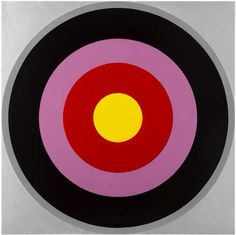 Untitled (Target Paintings) by Poul Gernes (1966-1969)