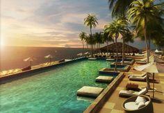 Trump Ocean Club International Hotel & Tower in Panama.