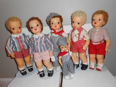 Group of Jerri Lee dolls! Big and Little Engineers.