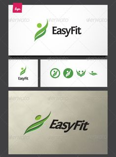 EasyFit Logo Template  #GraphicRiver         Simply beauty and elegant logo that suitable for any business related to healthy, fit, people, passion, well, spa, etc. This item consist of alternative symbols that fully editable in vector based applications such as Adobe Illustrator.  Format :   AI Adobe Illustrator  EPS Vector