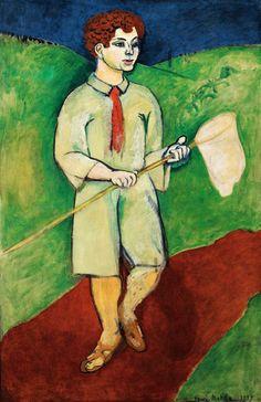 Henri Matisse - Boy With Butterfly Net - 1909