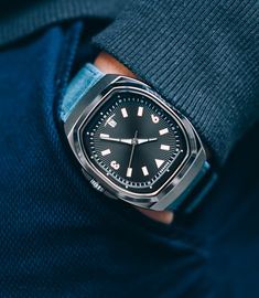 The Islander Automatic - Tonneau mechanical watch   Indiegogo Affordable Watches, Mechanical Watch, Omega Watch, Accessories, Mechanical Clock, Jewelry Accessories