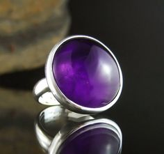 One of the most popular stones used since ancient times, Amethyst is the purple variety of Quartz and can be found in many places around the world, including Brazil, Africa and Australia.