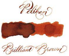 Pelikan 30 ml Bottle 4001 Fountain Pen Ink, Brilliant Brown
