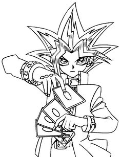 Ausmalbilder Yu-Gi-Oh 23