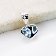 Blue #Topaz Gem Stone 92 5 #Silver Holiday #Pendants L 0 75in Spbto 1022 | eBay
