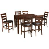 Intercon-Kona-Kona 7 Piece Dining Set - Jordan's Furniture