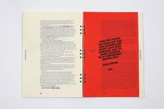 Censored Publication by Sonja Petrovic, via Behance Book Design Layout, Print Layout, Editorial Layout, Editorial Design, Buch Design, Material Didático, Publication Design, Book And Magazine, Typography