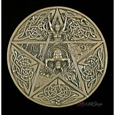 Celtic Symbol For Fire With celtic knotwork and