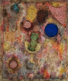 Paul  Klee      Magic Garden (Zaubergarten), March 1926 Oil on plaster-filled wire mesh,  52.9 x 44.9 cm, including artist's frame Peggy Guggenheim Collection, Venice 76.2553 PG 90
