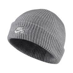 430e09d7067 Nike SB Fisherman Knit Hat - Grey Nike Sb