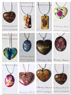 'bmgm - Handpainted necklaces' is going up for auction at  8pm Fri, Aug 17 with a starting bid of $20.