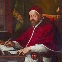 """""""Retrato do Papa Clemente VIII""""."""