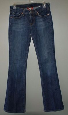 Lucky Brand Zoe boot cut jeans womens size 2/26 regular #LuckyBrand #BootCut