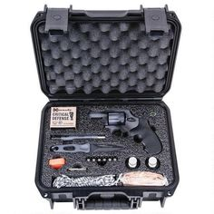"""Taurus 617 First 24 Revolver .357 Magnum 2"""" Barrel 7 Rounds Synthetic Grips Blued Waterproof Case and Survival Gear 2-617029-F24"""