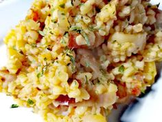 Lecsós bulgur Crossfit Diet, Diet Recipes, Healthy Recipes, Vegas, Paris Cafe, Chicago Restaurants, Foodie Travel, Risotto, Side Dishes