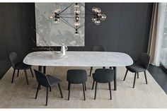 Mad Dining Table by Marcel Wanders for Poliform