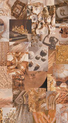 Gold aesthetic wallpaper