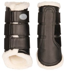 Harrys Horse Protection boots Flextrainer Black This popular leg protectors are provided with a special white lining which heating of the leg during the training occurs. The perfect fit provides an op