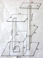Fabriquer un arbre à chat: Comment faire un arbre à chat
