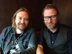 The National's Matt Berninger and his brother Tom on film Mistaken For Strangers Film Mistakes, Sibling Rivalry, The Brethren, Celebrity Couples, Toms, Brother, Interview, Celebrities, Music