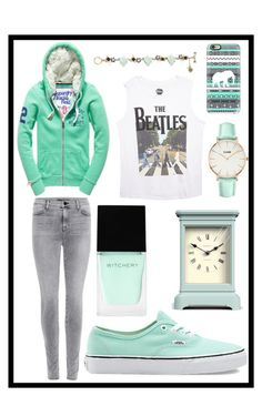 """""""#210 mint"""" by xjet1998x ❤ liked on Polyvore featuring J Brand, Wet Seal, Vans, Witchery, Casetify, Newgate and Betsey Johnson"""