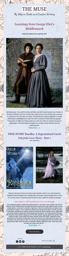 THEMUSE blog: Free story from author Odelia Floris