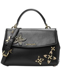 MICHAEL Michael Kors Ava Small Satchel - Handbags & Accessories - Macy's