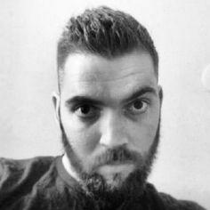 after haircut & beard trimmed