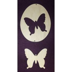 Ostern-Holzdeko-Schmetterling-Dekoration-aus-Holz-Decoupage-Technik-Holzfigur Wooden Figurines, Easter Activities