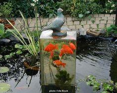 Tuinvijvers op pinterest japanse tuinen tuin fonteinen en koi vijvers - Bassin tuin ontwerp ...