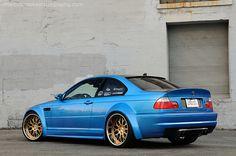 E46 BMW M3 Modified, awesome colour