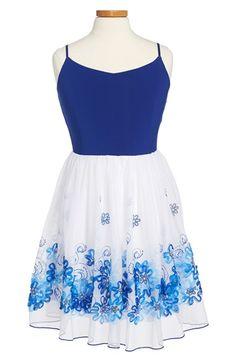 Un Deux Trois Sleeveless Soutache Party Dress (Big Girls) available at #Nordstrom