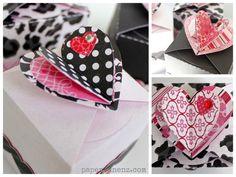 PaperVine: Valentine's Treat Boxes (Echo Park Paper)