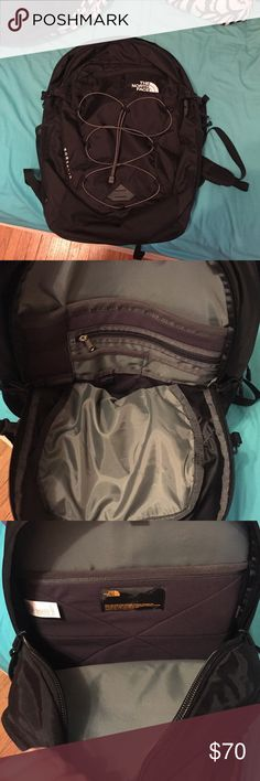 North Face Borealis Backpack! It's never been used! I bought it for school and decided to stick with my old one. It has a pocket for a lap top that is shown in a picture above. And has a pocket for pencils and all that stuff. Has two pockets on the sides for holding drinks as well! Let me know if you have any questions! Price is a little negotiable. The North Face Bags Backpacks