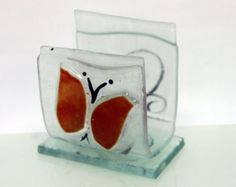 fused glass mobile phone stand  stand smartphone by virtulyglass